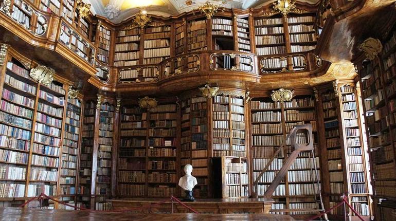 Библиотека монастыря Святого Флориана, статья, блог лавка Бабуин