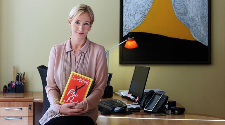 Статья, Что читают богатые и знаменитые, Около книг, Блог Лавки Бабуин, Джоан Роулинг