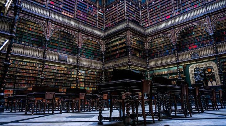Библиотека, Королевский читальный зал, статья, блог лавки бабуин
