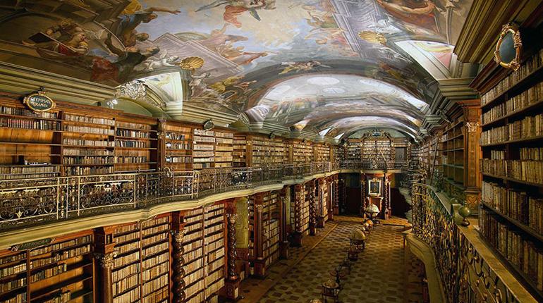 Национальная библиотека Праги, статья, блог, лавка бабуин
