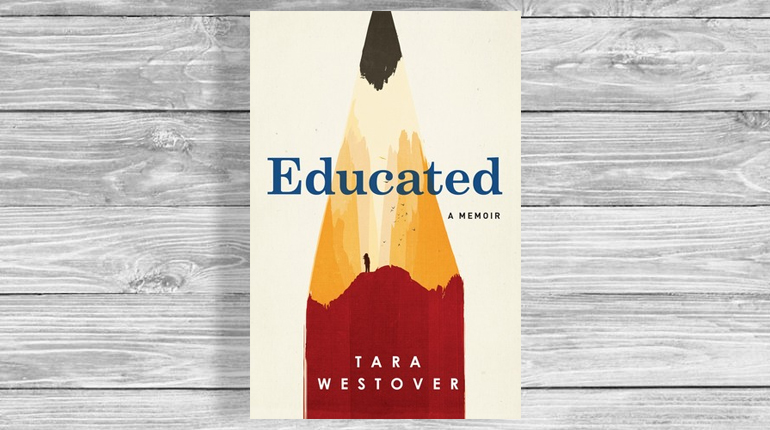 Обложка, Educated, Тара Вестовер, Около книг, Лавка Бабуин