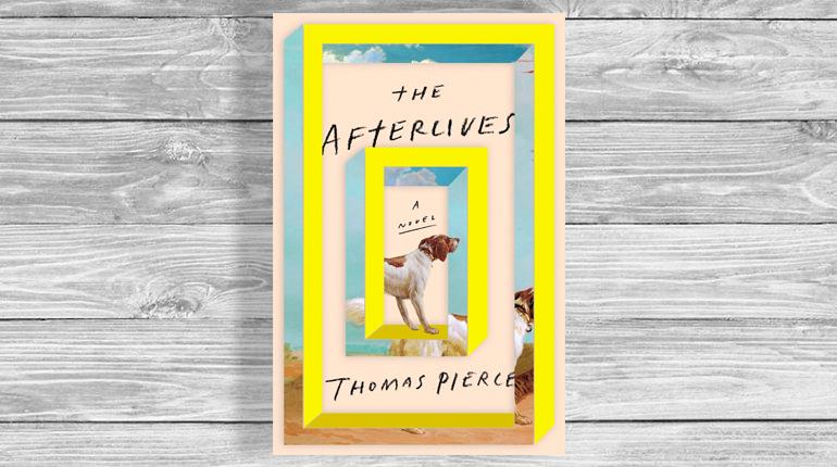 Обложка, The Afterlives, Томас Пирс, Около книг, Лавка Бабуин