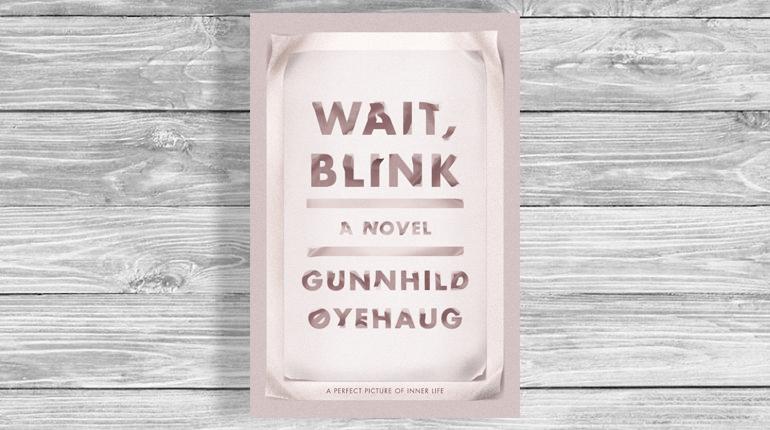 Обложка, Wait Blink, Гюнхильд Эюэхёуг, Около книг, Лавка Бабуин