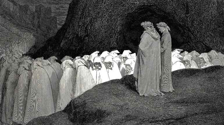 Иллюстрация Гюстава Доре, Около книг, Лавка Бабуин