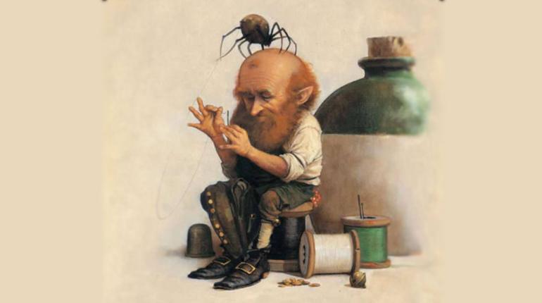 Шотландский гном Брауни, Около книг