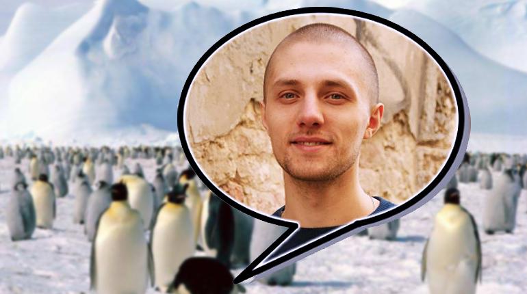 Новость, Паломничество в Антарктиду: украинский писатель Маркиян Прохасько отправился на ледовый континент, чтобы написать книгу