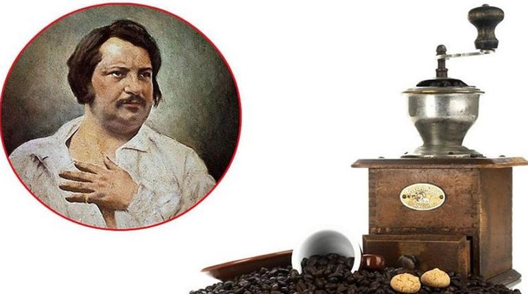 Оноре Де Бальзак и кофе, Около книг