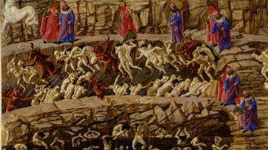 Картина Сандро Ботиччели, Около книг, Лавка Бабуин
