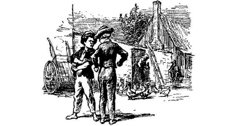 Иллюстрация, Приключения Тома Сойера, Обзор