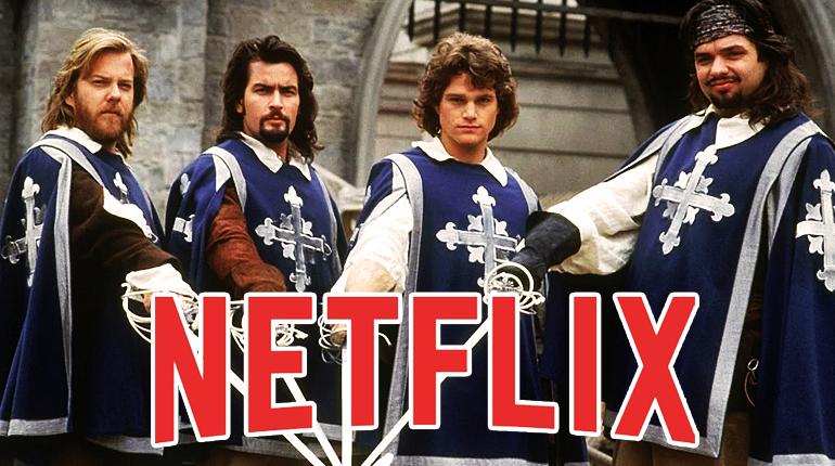 Новость, Новая экранизация от Netflix из романа Дюма Три мушкетера сделают боевик, Новости