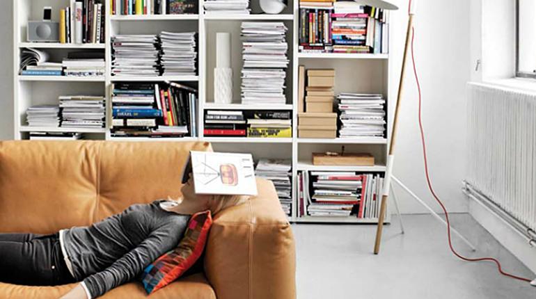 Статья, Где хранить книги в маленькой квартире. Вокруг книг