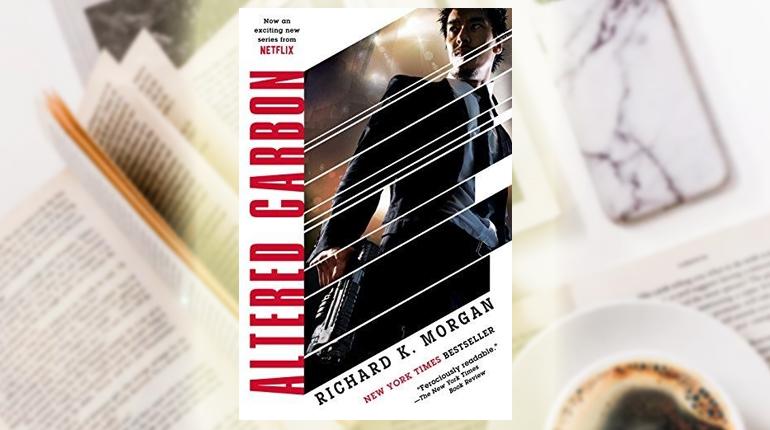 Книга, Видозмінений вуглець, Ричард Морган, 978-966-948-227-3