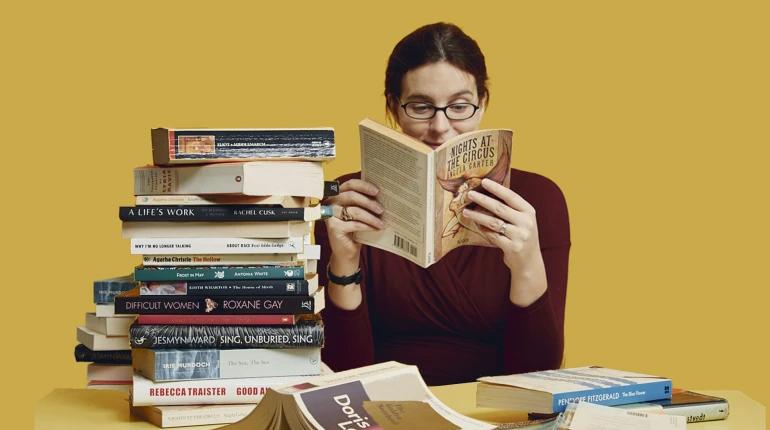 Статья, Як правильно читати книжки іноземною мовою, Вокруг книг