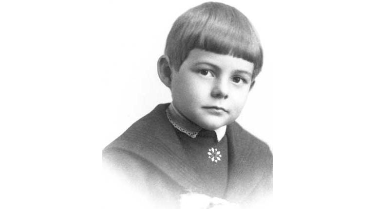 Фотография, Эрнест Хемингуей в детстве