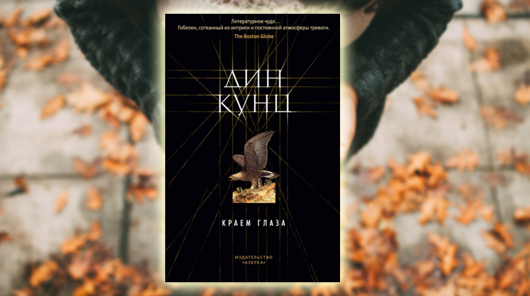 Книга, Краем глаза, Дин Кунц, 978-5-389-16719-3