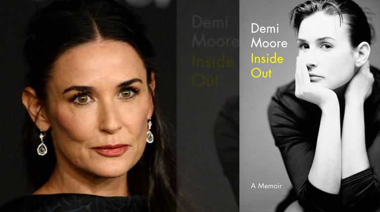 """Статья, Все, что вы хотели спросить у Деми Мур, она рассказала сама на страницах """"Inside Out"""", Новости"""