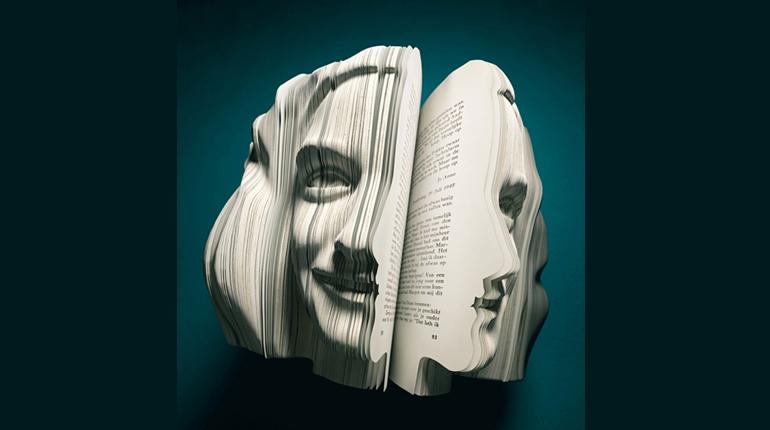 Фото, Книжные скульптуры или самое необычное 3D