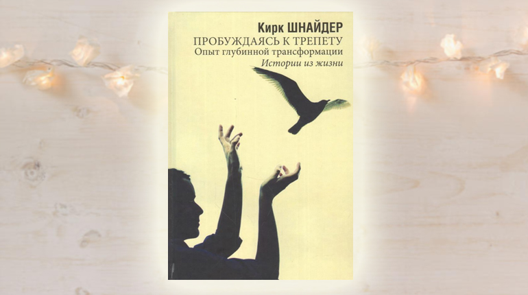 Книга, Пробуждаясь к трепету, Кирк Шнайдер, 978-5-88230-201-5