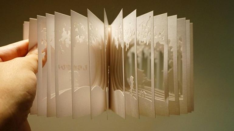 Статья, Сжечь, вырастить или использовать как приправу: самые невероятные варианты книжного дизайна, Вокруг книг
