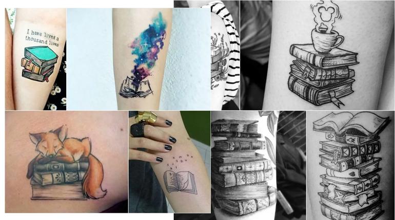 Статья. Чёрная метка читателя: лучшие книжные татуировки