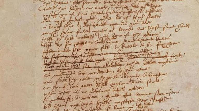 Статья, Единственная рукопись Уильяма Шекспира доступна онлайн, Новости