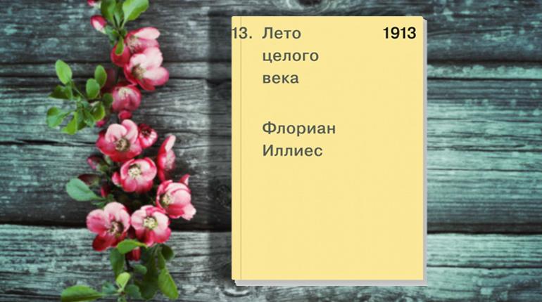 Книга, Лето целого века, 978-5-91103-443-6